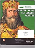 img - for Chapter Tests and Lesson Quizzes (Discovering Our Past: A History of the World Early Ages) book / textbook / text book