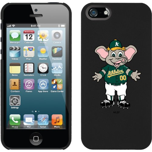 Special Sale Oakland Athletics - Mascot design on a Black iPhone 5 Thinshield Snap-On Case by Coveroo