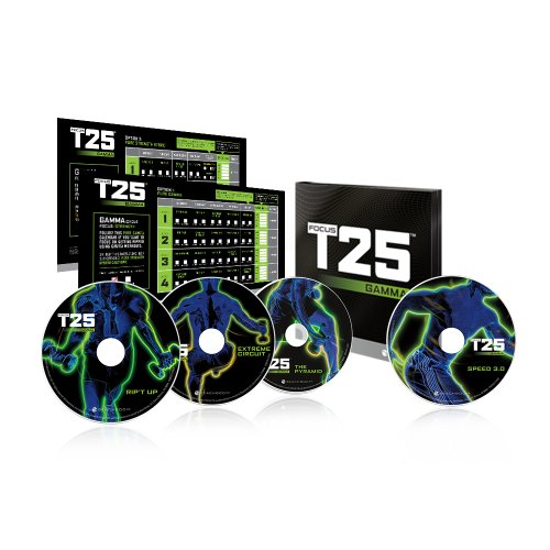 Lowest Price! Shaun T's FOCUS T25 GAMMA Cycle DVD Workout