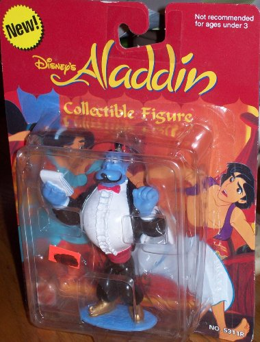 Buy Low Price Mattel DISNEY ALADDIN GENIE COLLECTIBLE FIGURE (B002LKZ5YI)