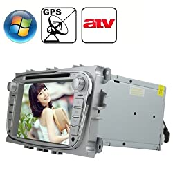 See Rungrace 7.0 inch Windows CE 6.0 TFT Screen In-Dash Car DVD Player for Ford Focus with Bluetooth / GPS / RDS / ATV Details