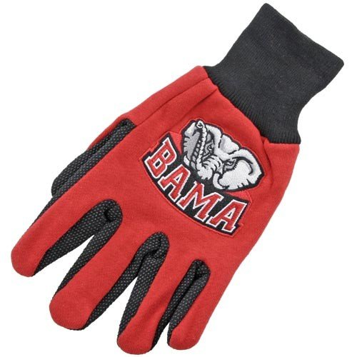 Alabama Crimson Tide Two-Tone Utility Gloves at Amazon.com