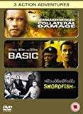 Swordfish/Basic/Collateral Damage [DVD]