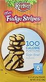Keebler Right Bites Fudge Shoppe Mini Fudge Stripes 100 Calorie Packs, 6-count Boxes (1 Box)