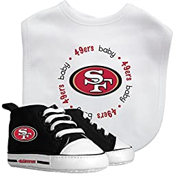 Baby Fanatic Bib and PreWalkers Set, San Francisco 49ers