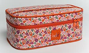 KidKit Travel Toiletries Train Case-SET OF TWO, Fully Stocked with High End Organic Travel Products, 9