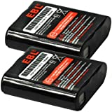Motorola 53615 EBL® 2 Pack 3.6V 700mAh Replacment Battery for KEBT-071A/53615 Motorola m53615 53615 KEBT-071-A KEBT-071-B KEBT-071-C KEBT-071-D Motorola Walkie Talkies Batteries Motorola 53615 Talkabout Rechargeable Battery Pack (2 Pack)