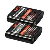 Motorola 53615 EBL® 2 Pack 3.6V 700mAh Replacment Battery for KEBT-071A/53615 Motorola m53615 53615 KEBT-071-A KEBT-071-B KEBT-071-C KEBT-071-D Motorola Walkie Talkies Batteries Motorola 53615 Talkabout Rechargeable Battery Pack (2 Pack)