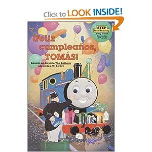 Feliz Cumpleanos, Tomas! (Step into Reading) Random House, Owain Bell and Desiree Marquez