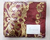 Janasya Womens Georgette Semi Stitched Dress Material (JNE0937-MAROON-DR-COPPER.A_Maroon)