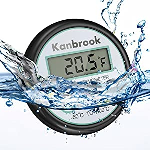 Kanbrook Digital Meat Thermometer, For Use in the Kitchen and the outdoor Barbecue: Turkey,Steak,Ham,Candy. Instantly Detects Temperature.