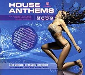 Various artists house anthems 2009 music for House music 2009