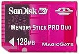 SanDisk製メモリースティックPROデュオ128MB<Pink>
