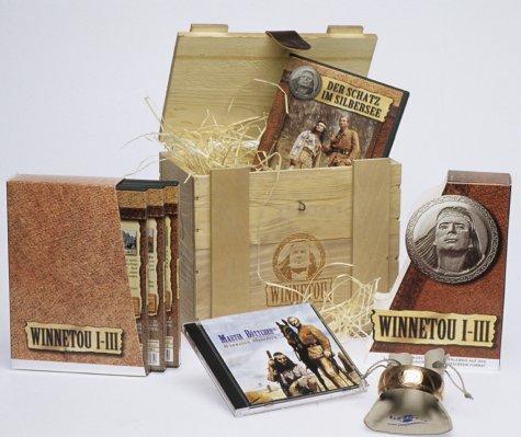 Winnetou 1-3/Der Schatz im Silbersee - Geschenkbox (limitiert) [4 DVDs]