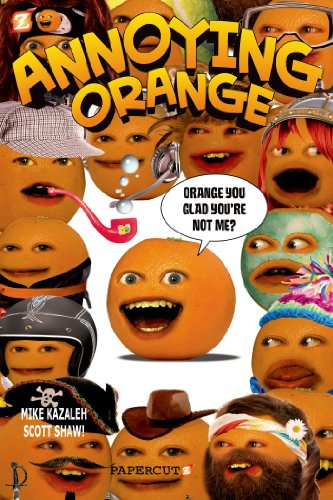Annoying Orange #2: Orange You Glad You're Not Me? (Annoying Orange Graphic Novels), Buch