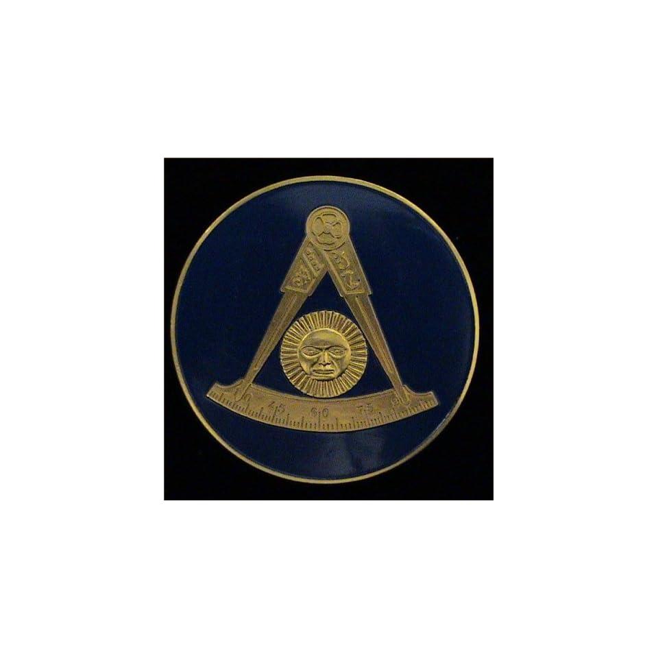 F&AMPast Master Masonic Car Bumper Sticker