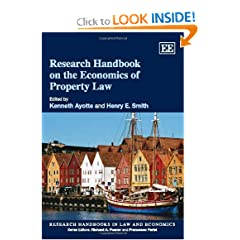 Research Handbook on the Economics of Property Law (Research Handboooks in Law and Economics) (9781847209795)