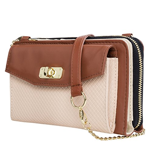 Women's Clutch Cross Body Purse Samsung for Galaxy S7 S6 S5 S4 S7 Edge S6 Edge S5 Note 5 Note 6 Note 4 (Galaxy Note Edge Cases For Women compare prices)