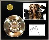Beyonce Gold Record Signature Series LTD Edition Display