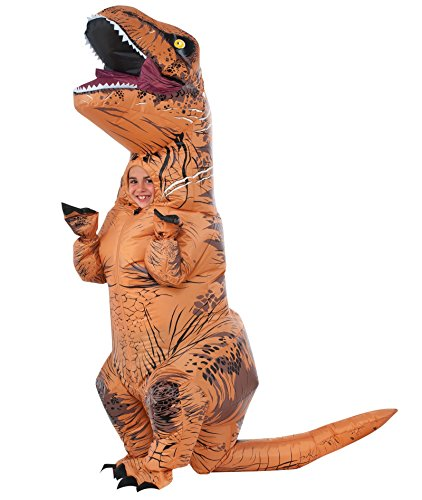 Jurassic World T-Rex Inflatable Costume (Standard Child's Size)