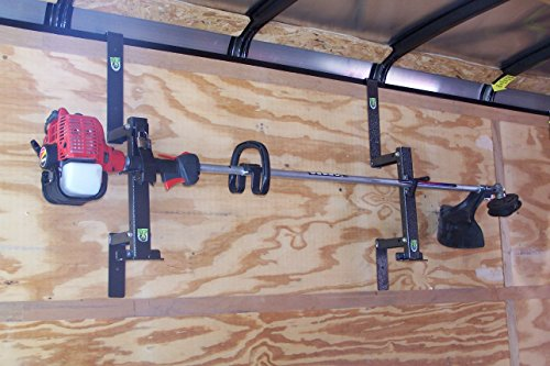 1 Place Trimmer Rack for Enclosed Trailers by Pack'em Racks