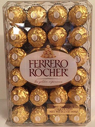 Ferrero Rocher Fine Hazelnut Chocolates 48ct 21.2oz (Stevia Hazelnut Chocolate compare prices)