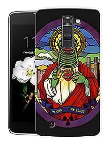 "Dinosaur Art Printed Designer Mobile Back Cover For ""LG K10"" By Humor Gang (3D, Matte Finish, Premium Quality, Protective Snap On Slim Hard Phone Case, Multi Color)"