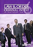 LAW AND ORDER - Criminal Intent - The Complete Series 6 [import]