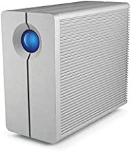 LaCie 2big Quadra - Unidad de disco múltiple (HDD, 10000 GB, HDD, Torre, Aluminio, Home & Home Office)