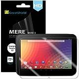 GreatShield Ultra Smooth Clear Screen Protector Film for Google Nexus 10 / Samsung Nexus 10 Tablet (3 Pack)