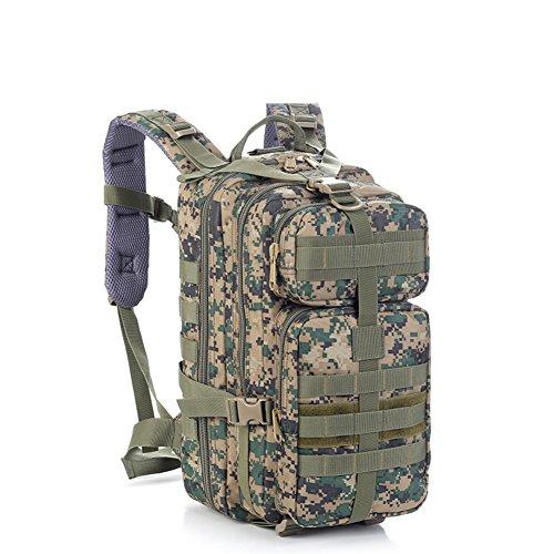 Outdoor sac à dos d'alpinisme / ventilateurs militaires sac / sac étanche de camouflage tactique-3 40L