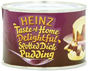 Heinz Spotted Dick Sponge Pudding, 9.4-Ounce Cans (Pack of 6)