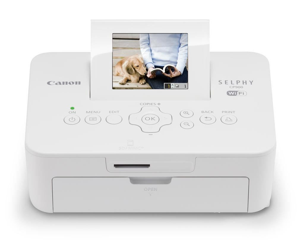 Canon SELPHY CP900 White Wireless Color Photo Printer--Christmas Gifts for Mom