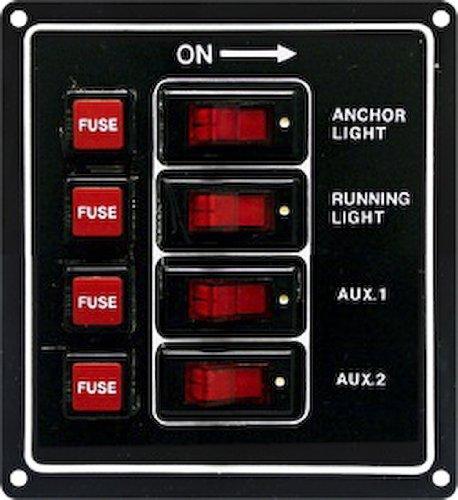 Seasense Switch Panel 4 Gang