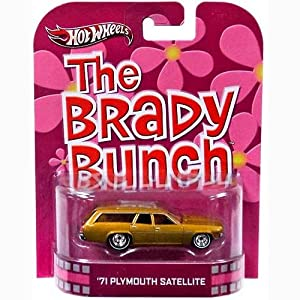 Hot Wheels The Brady Bunch Plymouth Satellite Die Cast Car from Mattel Toys