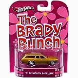 Hot Wheels The Brady Bunch Plymouth Satellite Die Cast Car