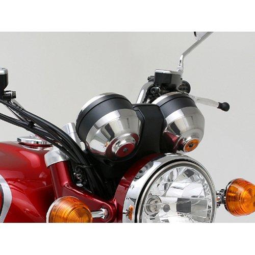 デイトナ(DAYTONA) メーターカバー 左右1セット ABS製メッキシート K0 LOOK 74926