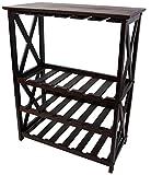 Casual Home 830-44 Montego X Wine Rack, Espresso