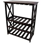 Casual Home 830-44 Montego X Wine Rack, Espresso
