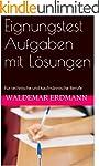 Eignungstest Aufgaben mit L�sungen: F...