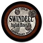 Swindell Beer - 4 pack Rubber Drink Coasters