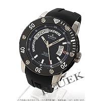 [エドックス]EDOX 腕時計 クラスワン オートマチック デイデイト セラミックベゼル チタン ダイバーズ ラバー ブラック 83005-TIN-NIN メンズ [並行輸入品]
