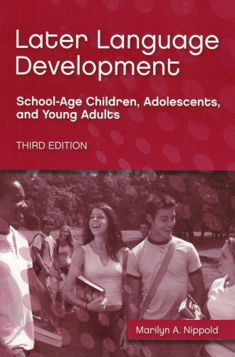 Later Language Development: School-age Children,...