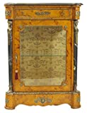 Casa-Padrino Empire Vitrine birdseye maple - Handcrafted from solid wood - baroque display case
