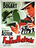 The Maltese Falcon Poster Movie French 11×17 Humphrey Bogart Mary Astor Peter Lorre Reviews