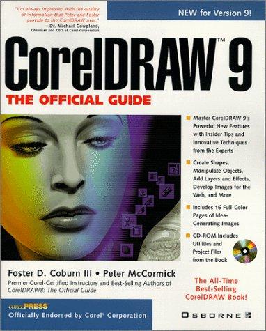 CorelDRAW 9: The Official Guide (Corel Draw Books compare prices)