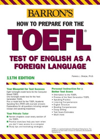 How to Prepare for the TOEFL (Barron's How to Prepare for the Toefl Test of English As a Foreign Language (Book Only))