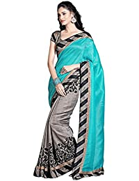 Muta Fashions Cotton Silk Saree (Muta226_13_Grey)