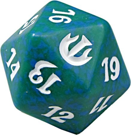 Journey Into Nyx D20 Spindown Life Counter - Green