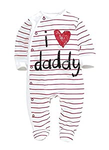 COCOTINA Baby Rompers 2015 Newborn I Love Mummy & Daddy Baby Costume Girls Boy Jumpsuit Clothing Winter Romper Body Baby Clothes